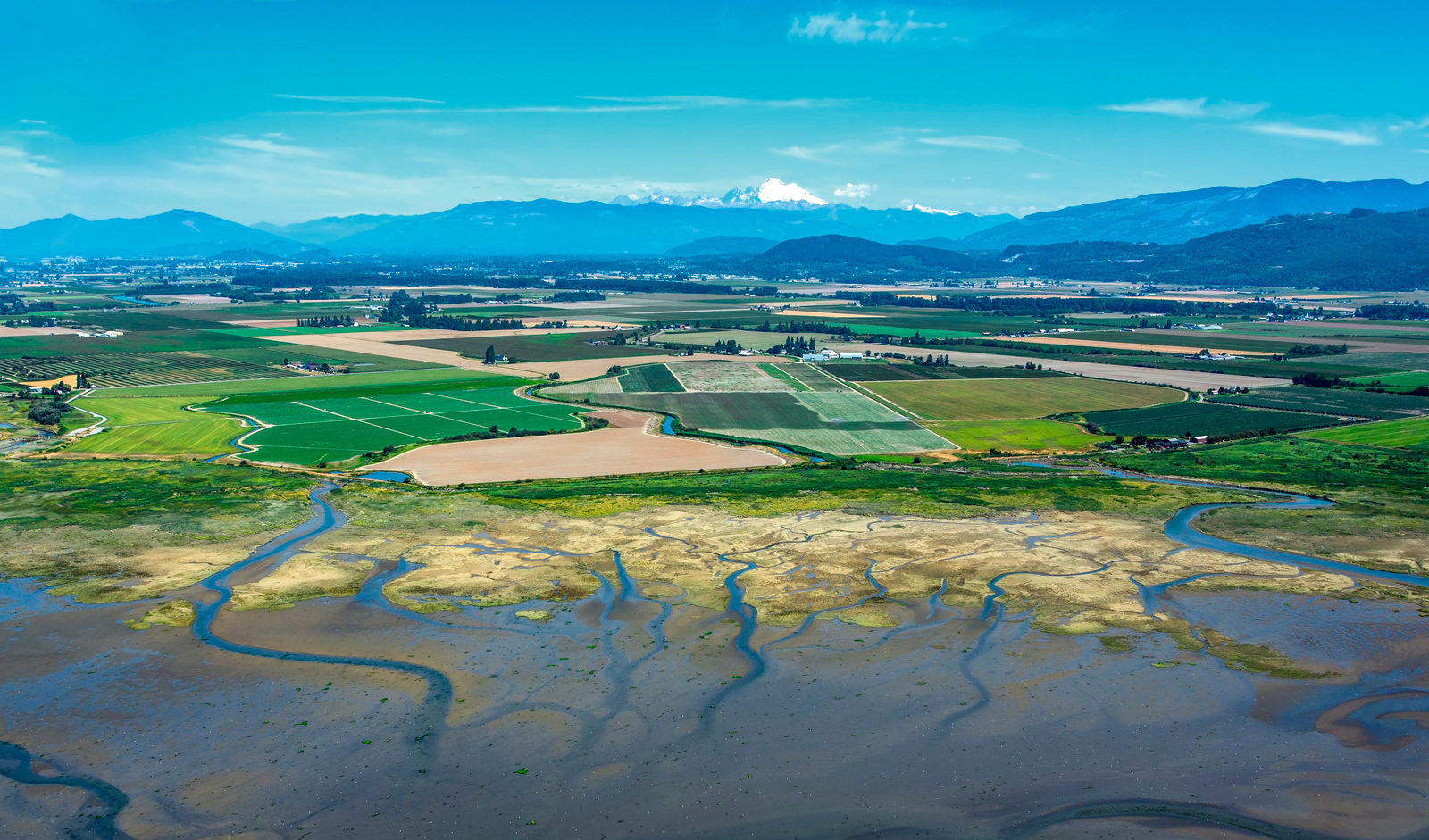 Our floodplains provide clean water, bountiful harvests and places to make our homes. Floodplains by Design helps communities manage rivers at a system scale - an approach legislators supported with the program's highest-ever appropriation this year. Photo by Marlin Greene.
