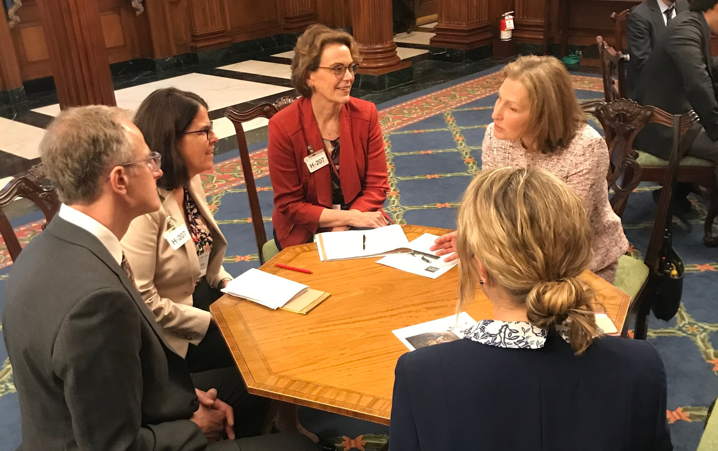 Congresswoman Kim Schrier spoke with us about forest health, climate change and investing in nature-based solutions to environmental challenges. Photo by Alicia Bissonnette.