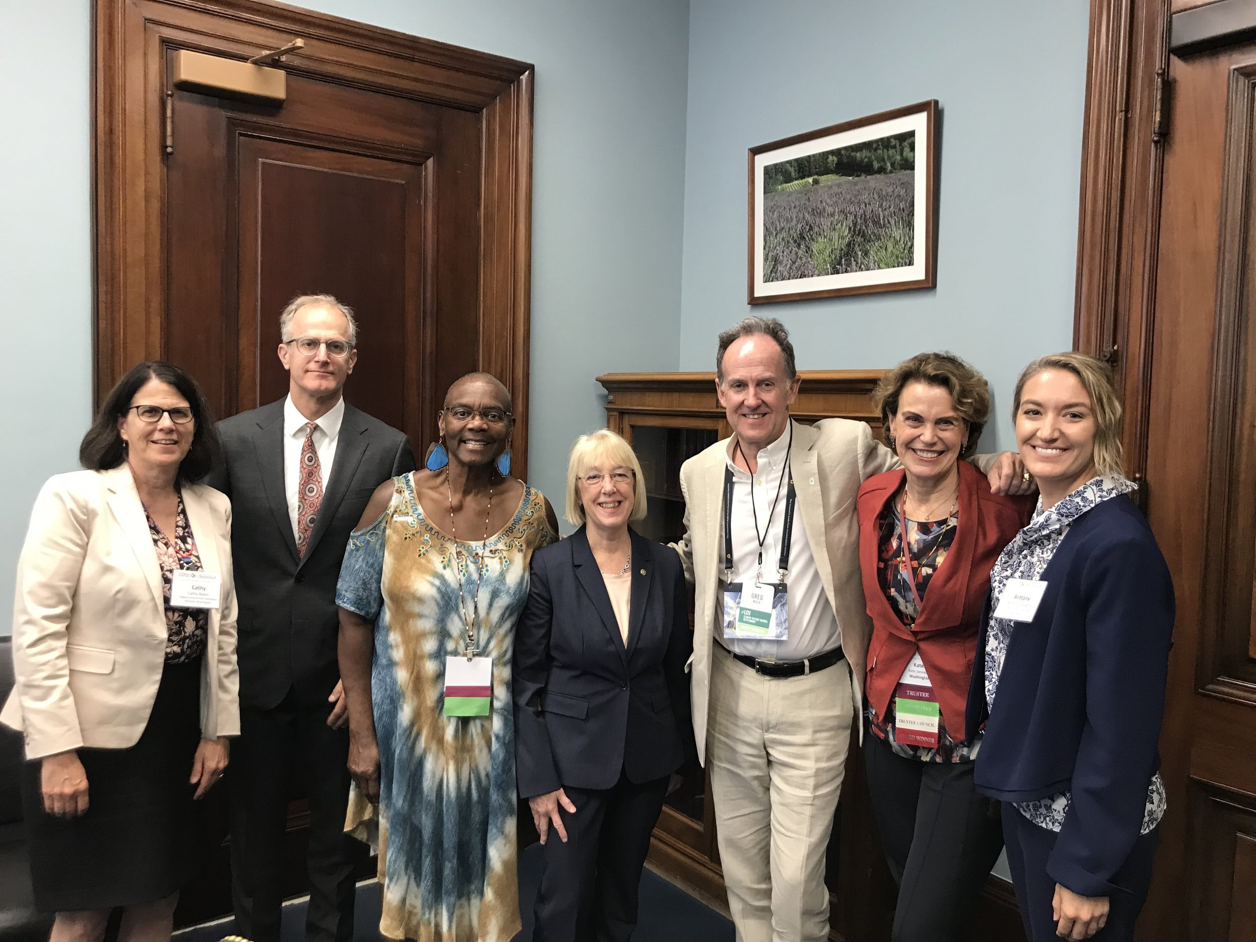 Hiking the Hill: Speaking up for Nature in Washington, DC