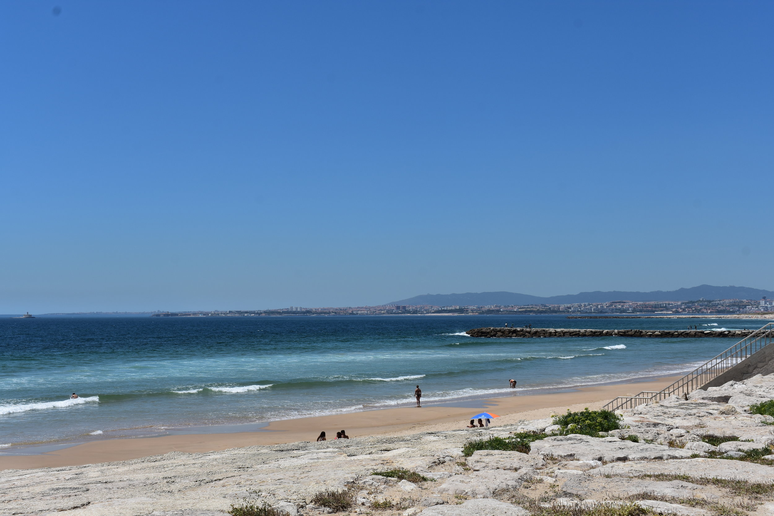 Dune nourishment on Portugal's beaches benefits the local community as well as recreation and the economy. Photo by Katrina Radach.
