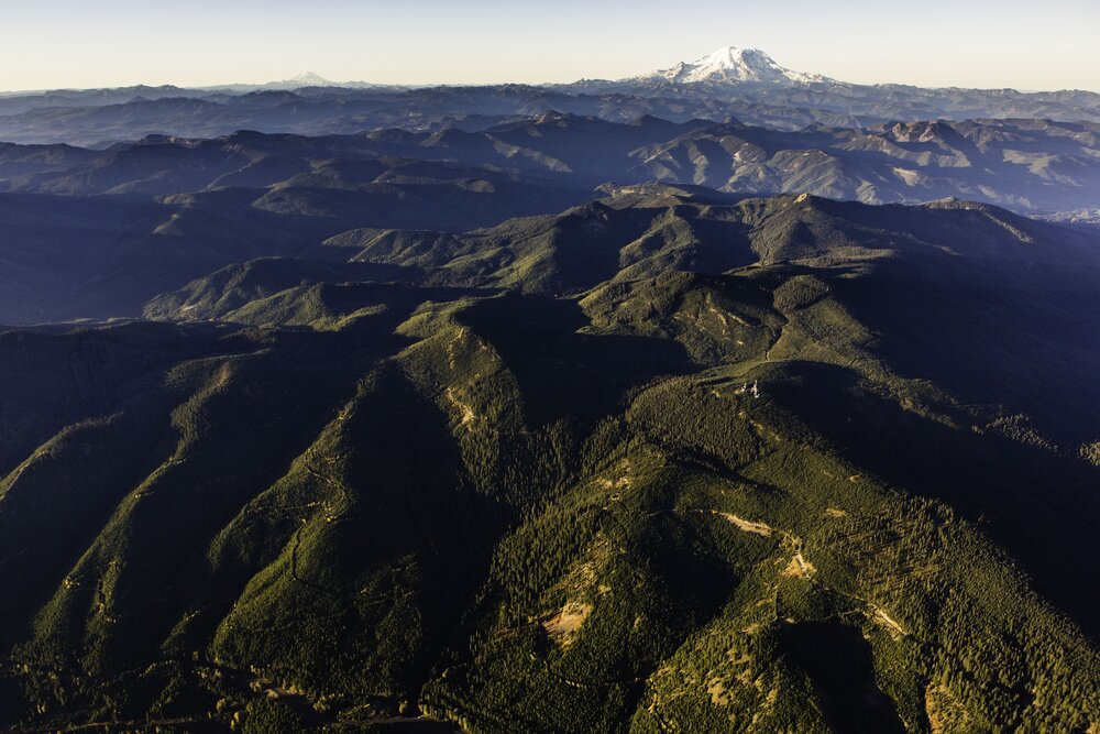 Central Cascades Checkerboard and Rainier by Benjamin Drummond.jpg