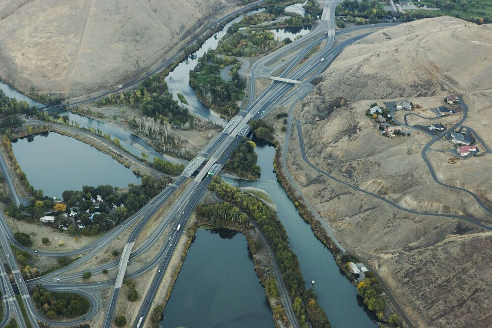Confluence of Yakima and Naches Rivers near I-82 by Benjamin Drummond.jpg