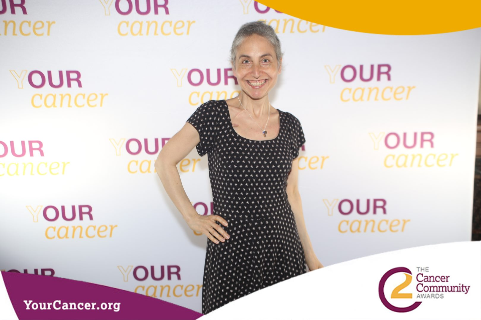 At the Cancer Community (C2) Awards at the New York Public Library 5/2/19