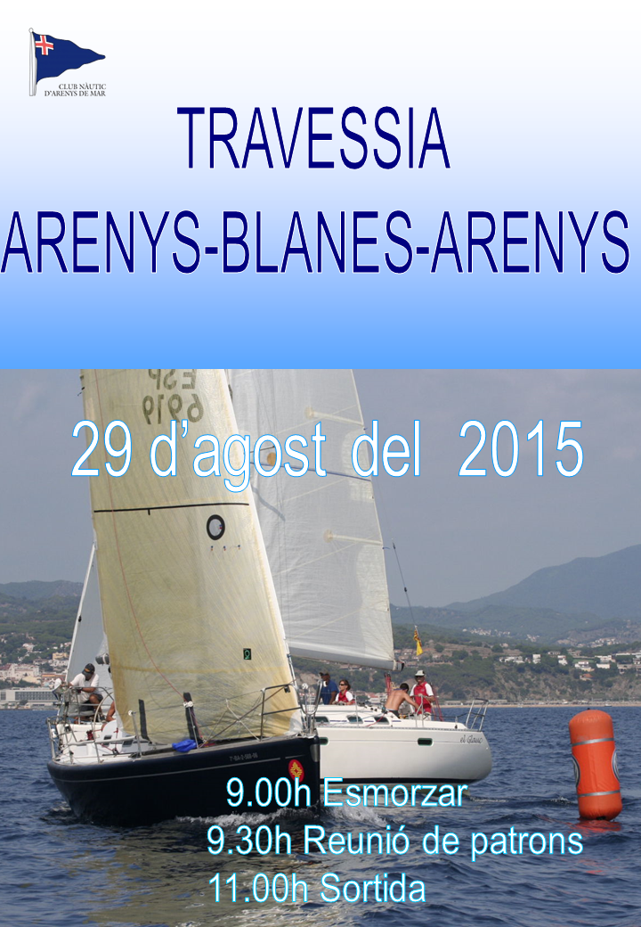 Travessia Arenys - Blanes - Arenys