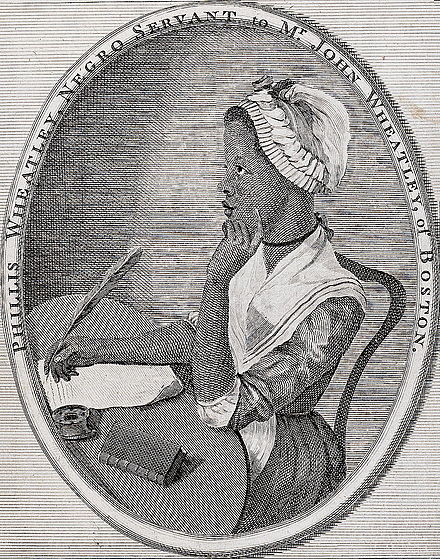Phillis Wheatley, Poems on Various Subjects, 1773