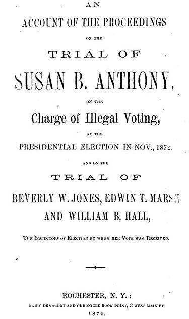 United States v. Anthony, 1872