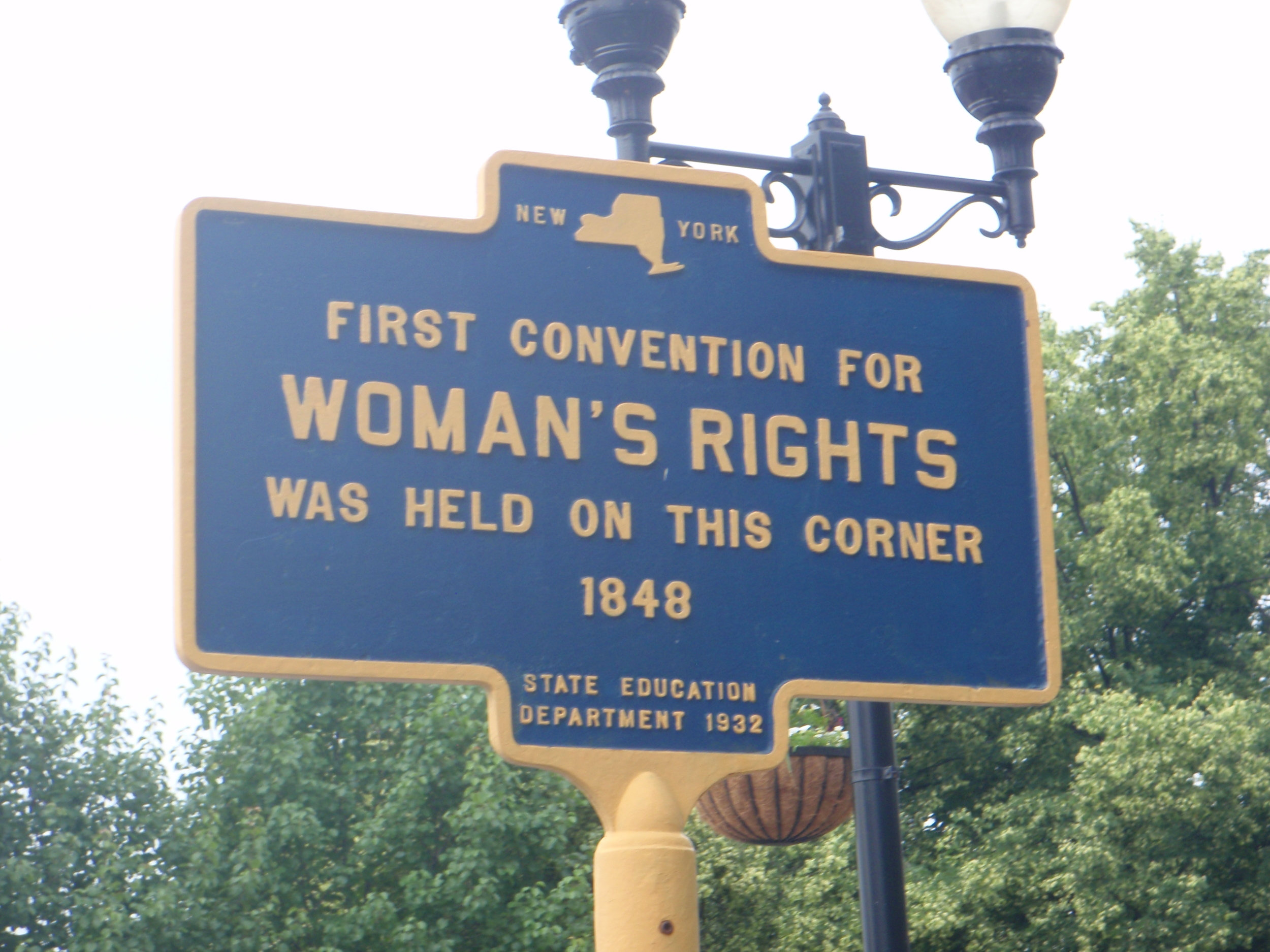 Seneca Falls: Transcript of Proceedings