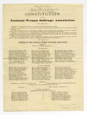 NWSA Constitution