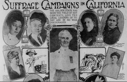 Suffrage Campaigns in California
