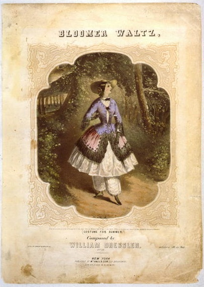 Bloomer waltz, library of congress