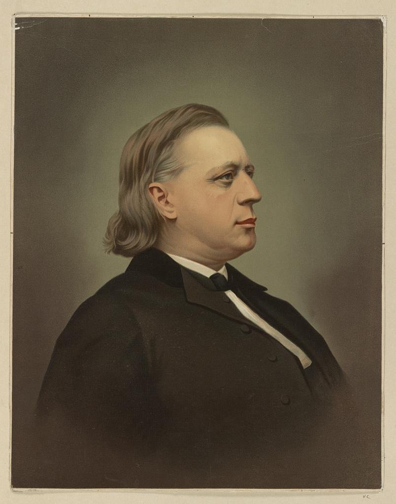 Henry Ward Beecher, Library of Congress.