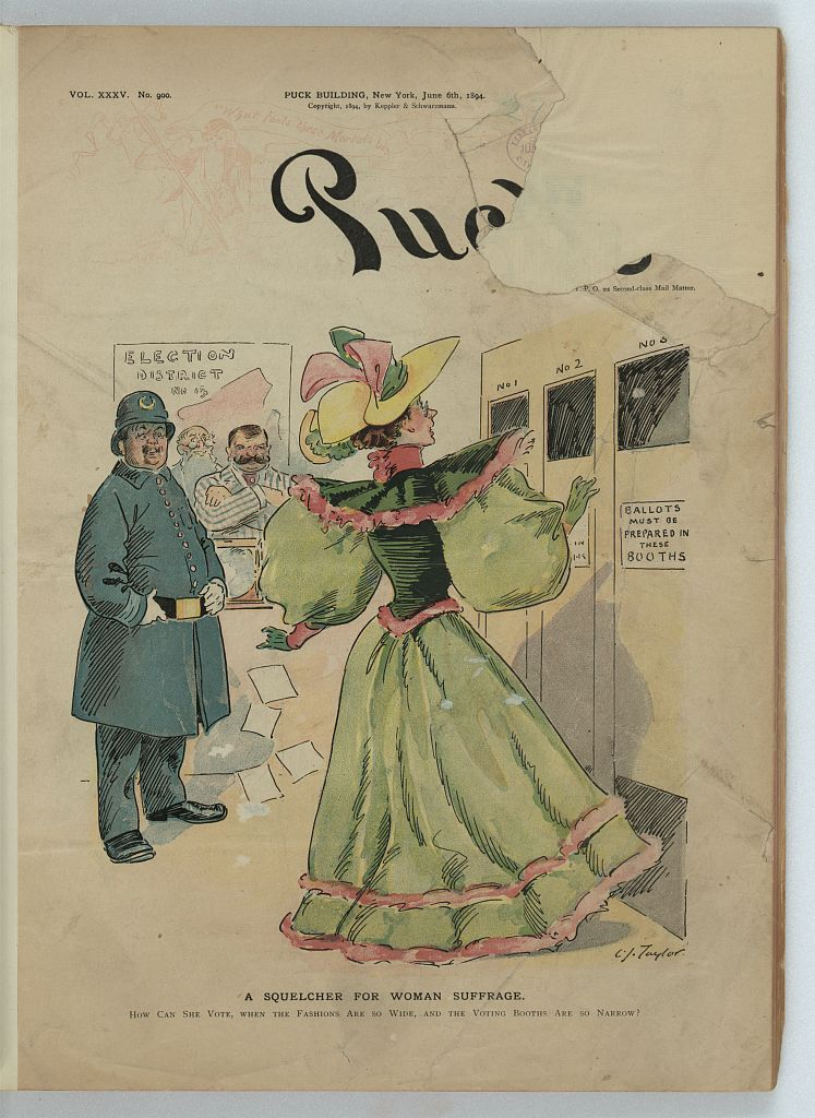A Squelcher for Woman Suffrage
