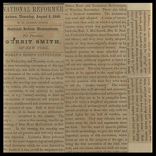 National Reformer Newspaper From August 3, 1848