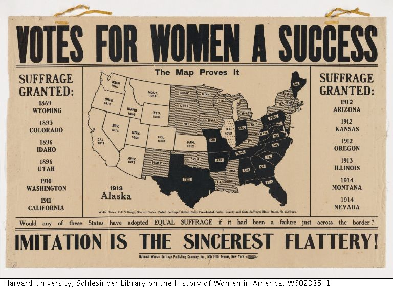 Votes for Women A Success. Imitation is the Sincerest Flattery!!