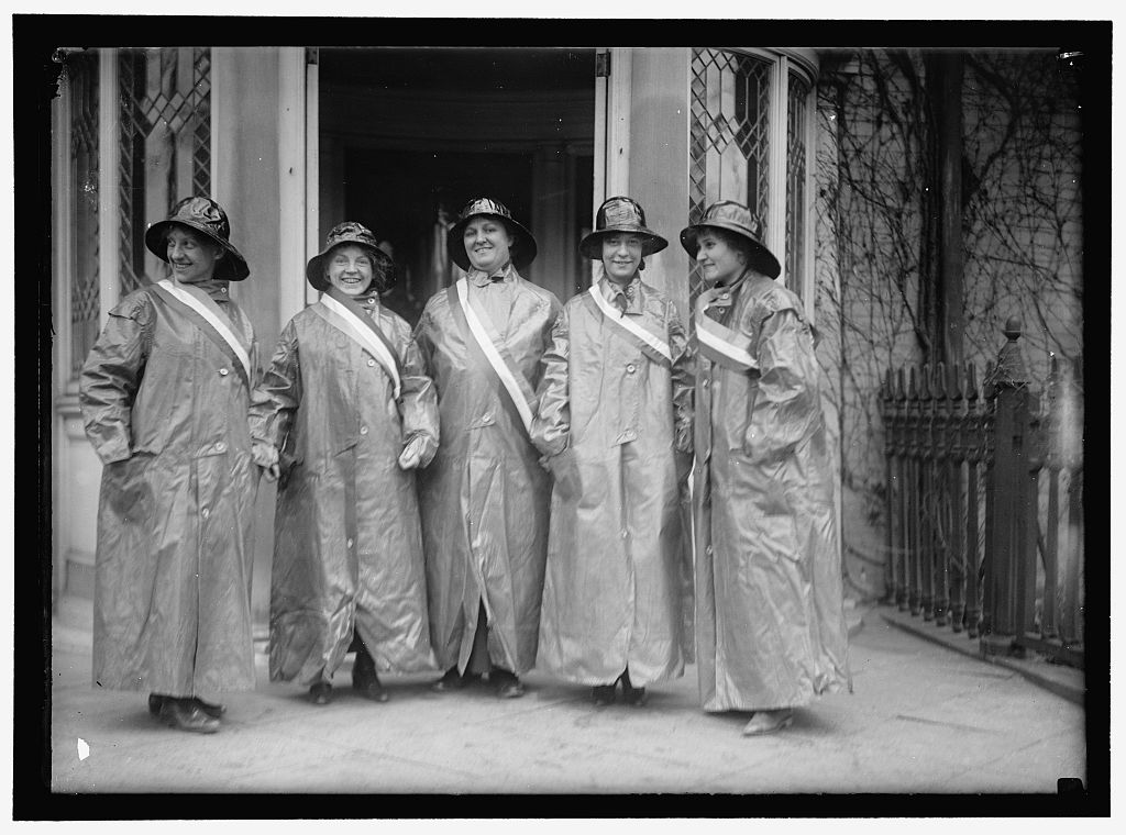 WOMAN SUFFRAGE PICKETS