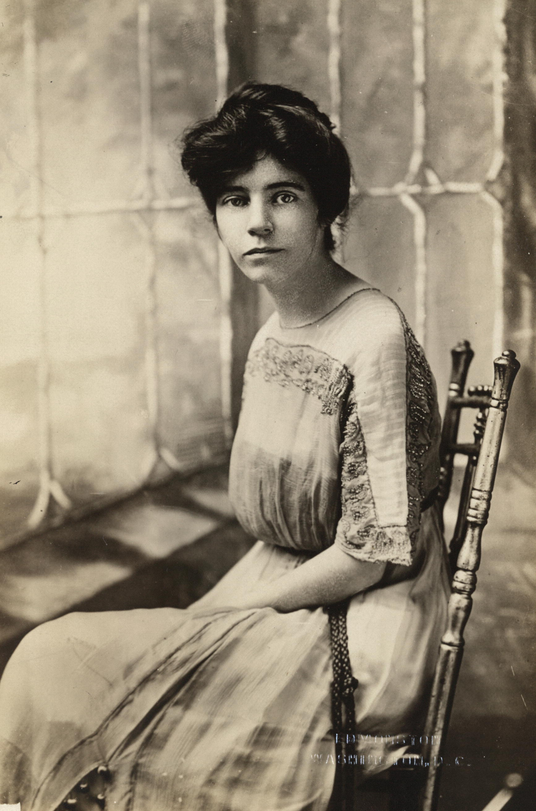 Miss Alice Paul, New Jersey, National Chairman, Congressional Union for Woman Suffrage; Member, Ex-Officio, National Executive Committee, Woman's Party