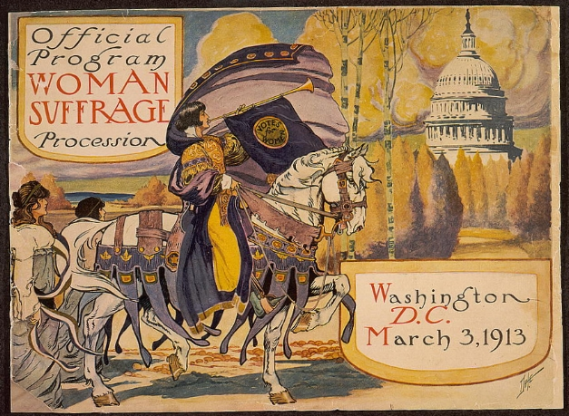 Official program - Woman suffrage procession, Washington, D.C. March 3, 1913 / Dale.