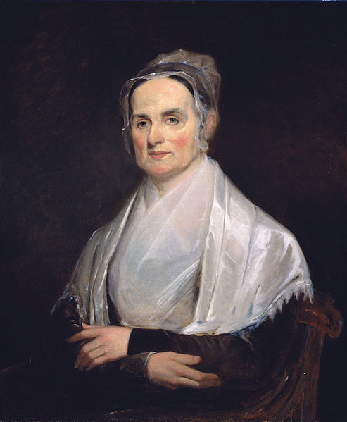 Painting of Lucretia Mott