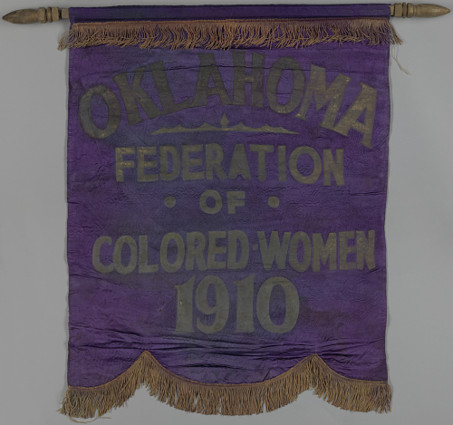 Banner for Oklahoma Federation of Colored Women's Clubs