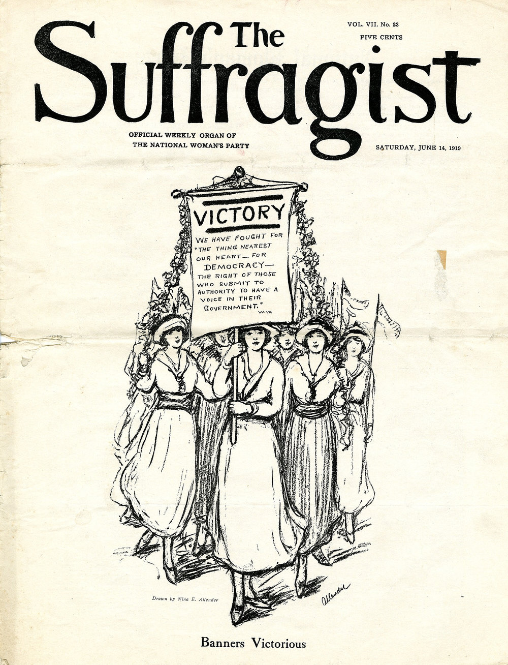 Imagery and Propaganda — History of U S  Woman's Suffrage