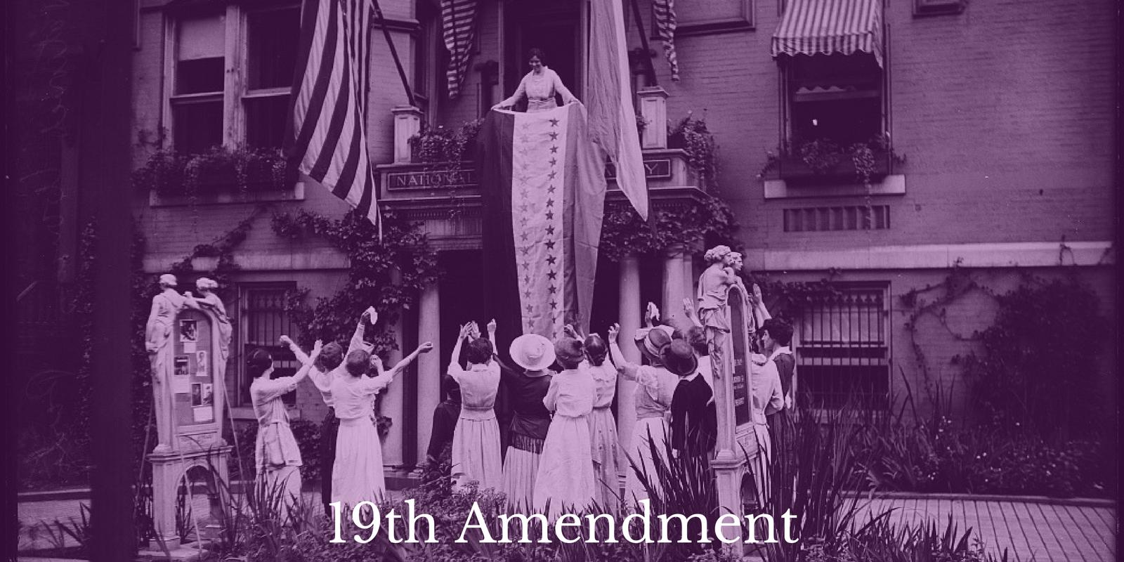 Lesson Plan 19th Amendment