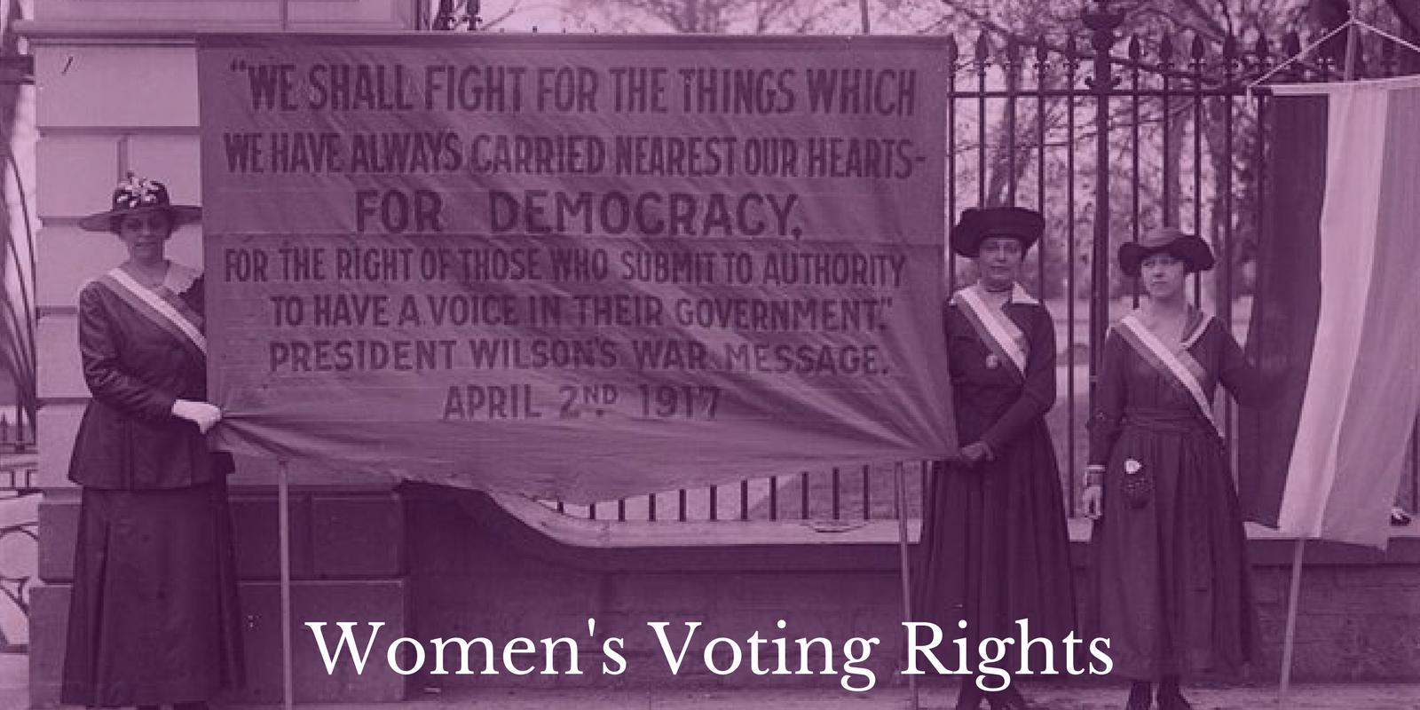 Lesson Plan Women's Voting Rights