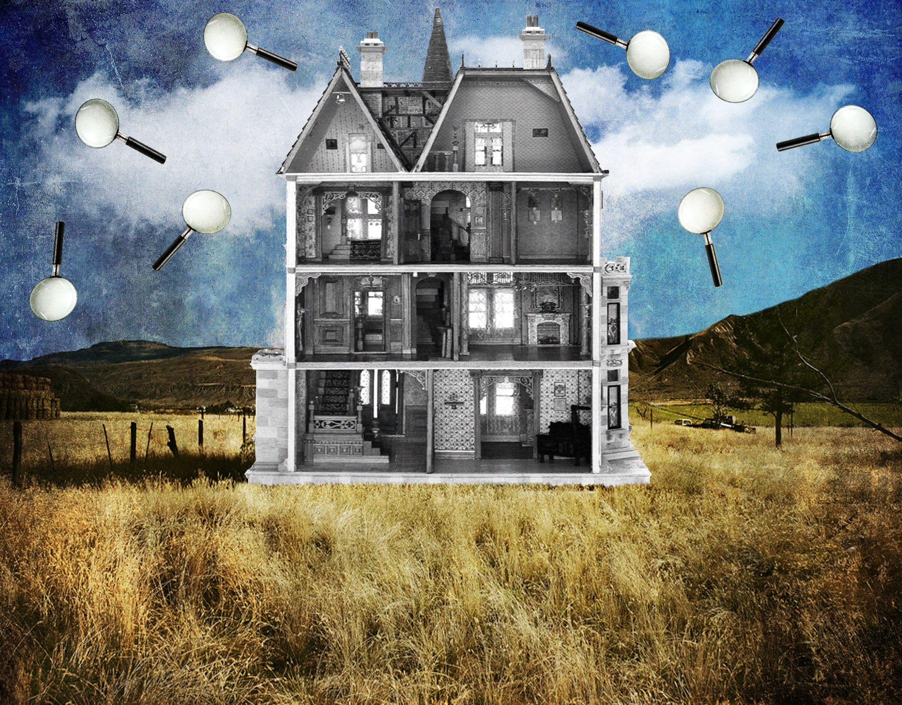 Jenkins, Cheyenne.  Privacy.  2014. Digital Collage. Montreal, Quebec