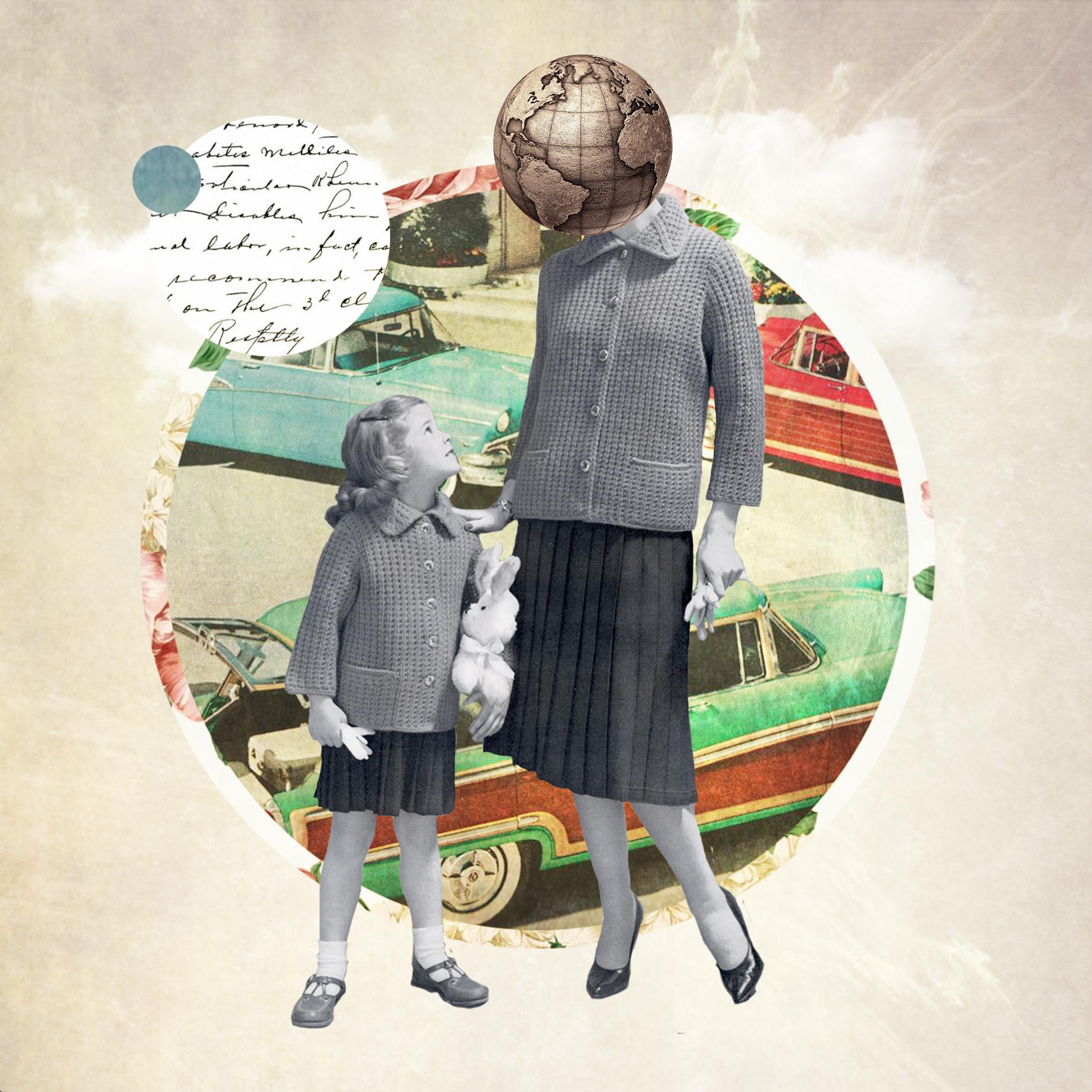 Jenkins, Cheyenne.  Wisdom. 2015. Digital Collage. Montreal, Quebec