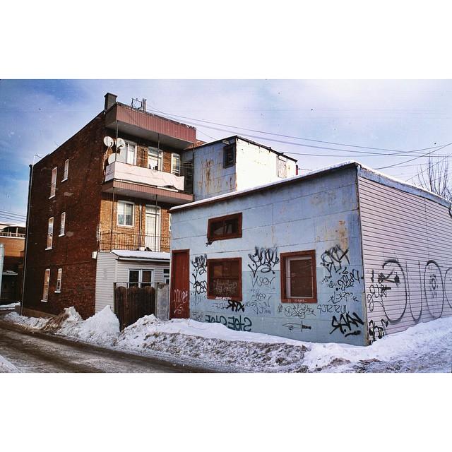 Jenkins, Cheyenne.  Plateau . 2015. 35mm Slide Photography. Montreal, Quebec