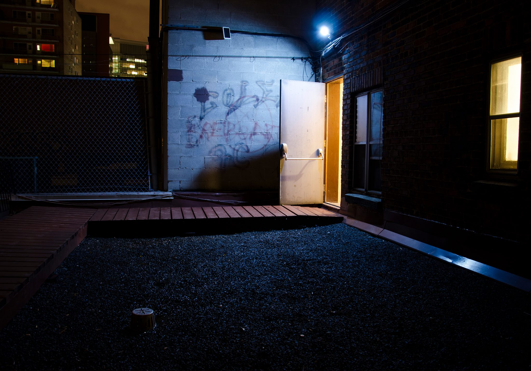 Jenkins, Cheyenne. Back Alley . 2014. Digital Photography. Montreal, Quebec
