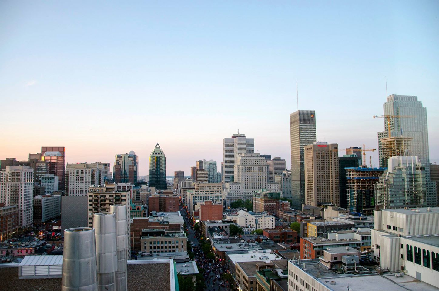 Jenkins, Cheyenne.  Montreal Cityscape . 2015. Digital Photography. Montreal, Quebec