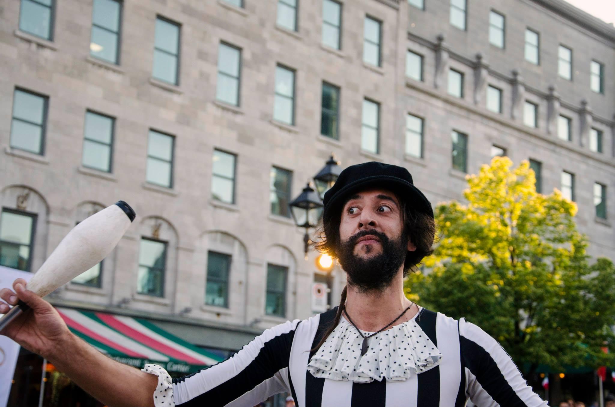 Jenkins, Cheyenne. Street Performers . 2015. Digital Photography. Montreal, Quebec.