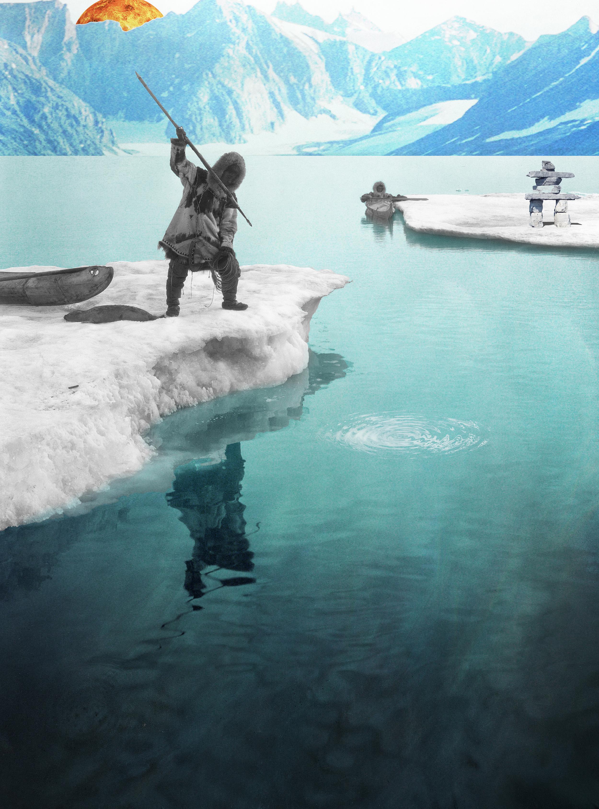 Jenkins, Cheyenne. Inuit. 2016. Digital Collage. Montreal, Quebec