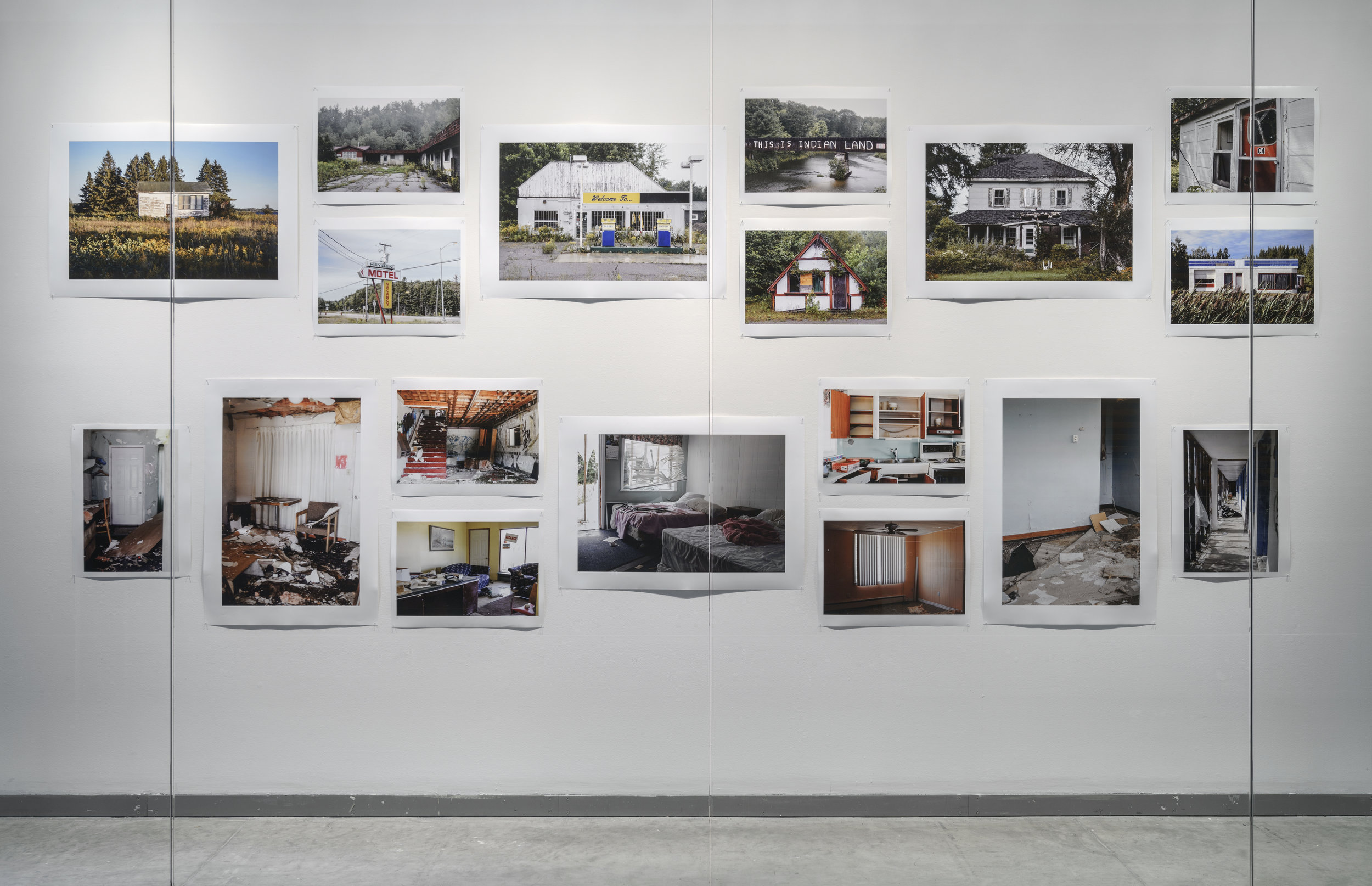 Display in the FOFA Gallery June 2017  Photo:Guy L'Heureux.