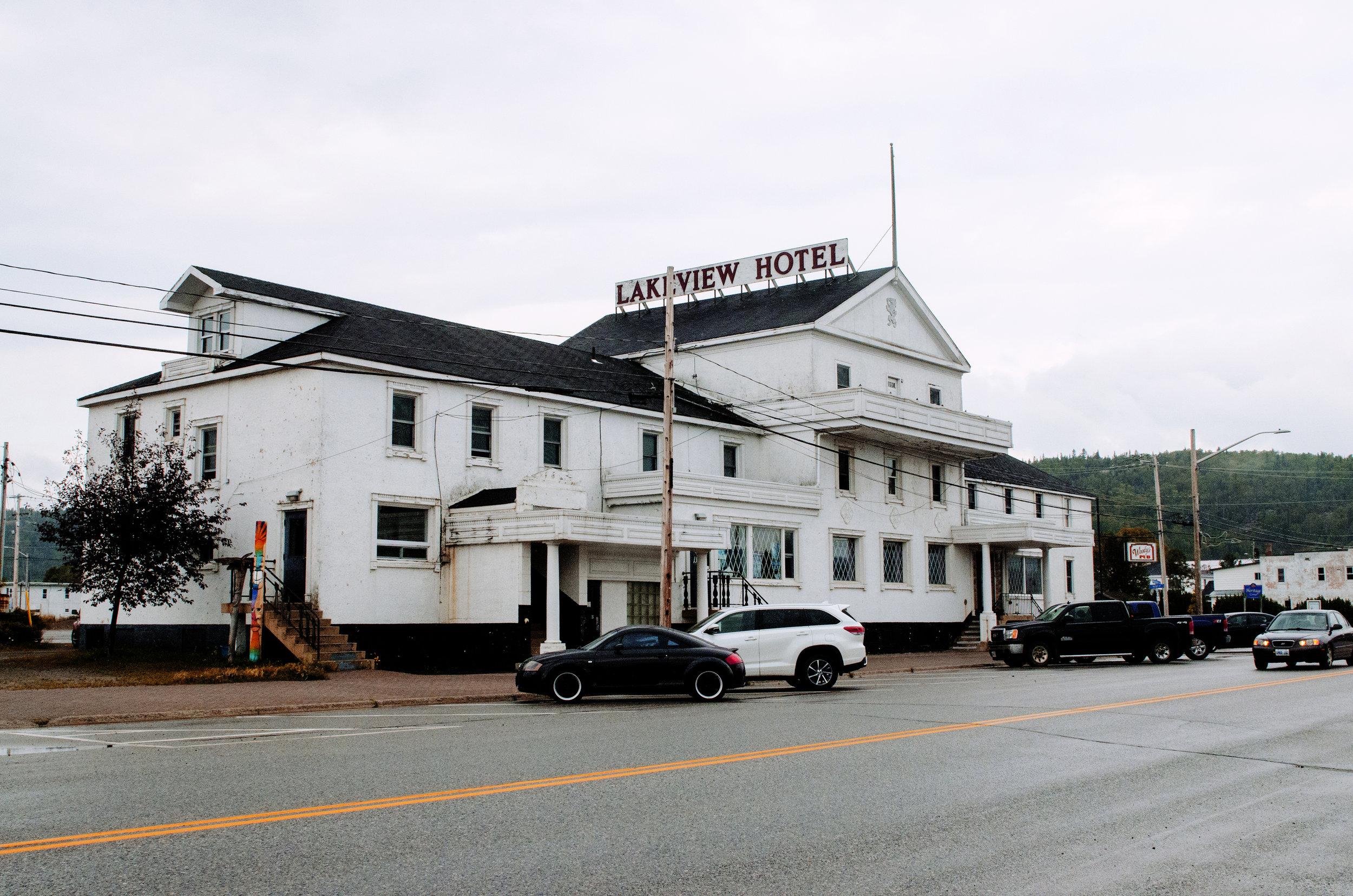 Jenkins, Cheyenne. Lakeview Hotel. 2017. Digital Photography. Wawa, Ontario