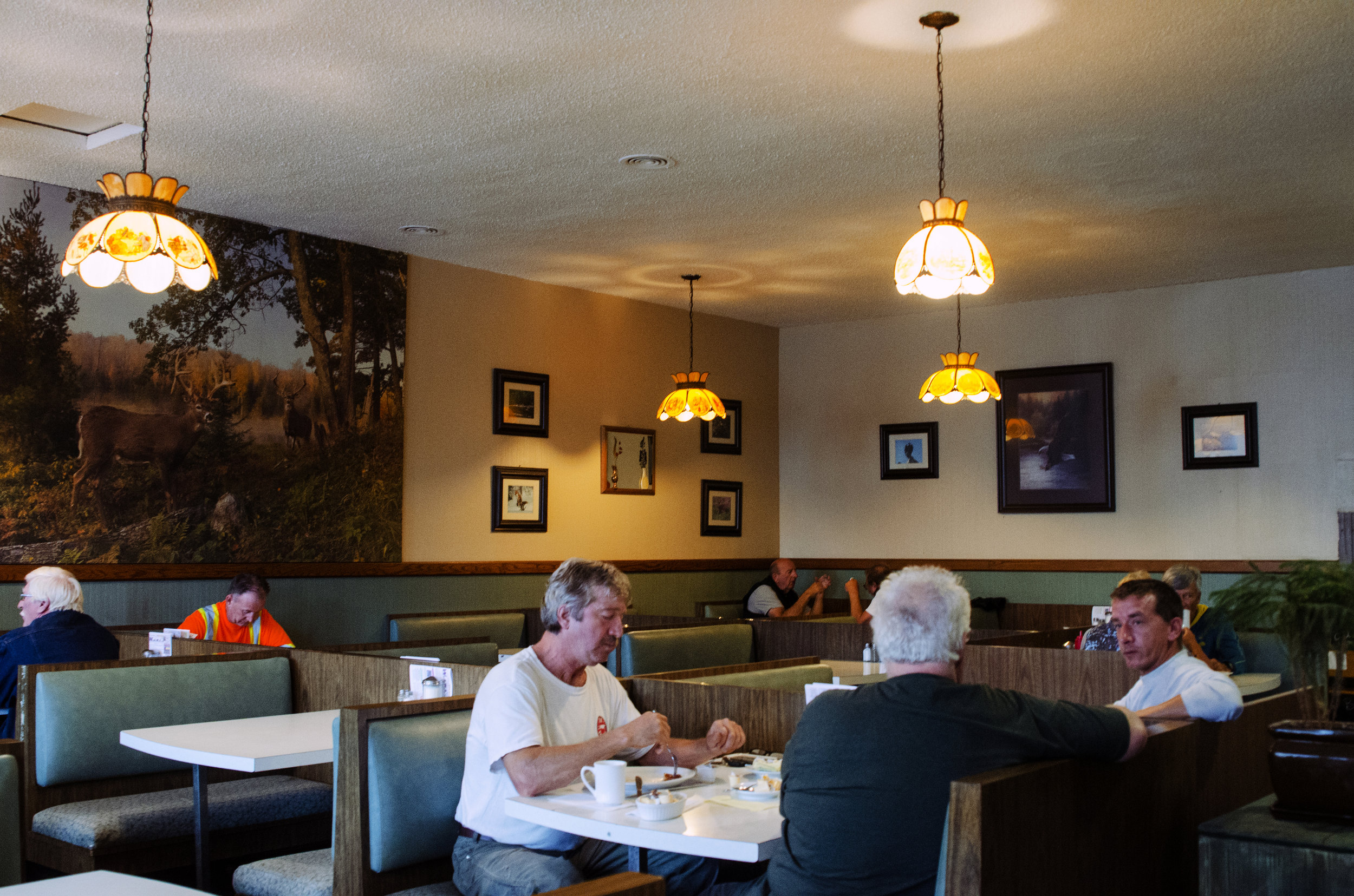Jenkins, Cheyenne. Embassy Restaurant Breakfast. 2017. Digital Photography. Wawa, Ontario