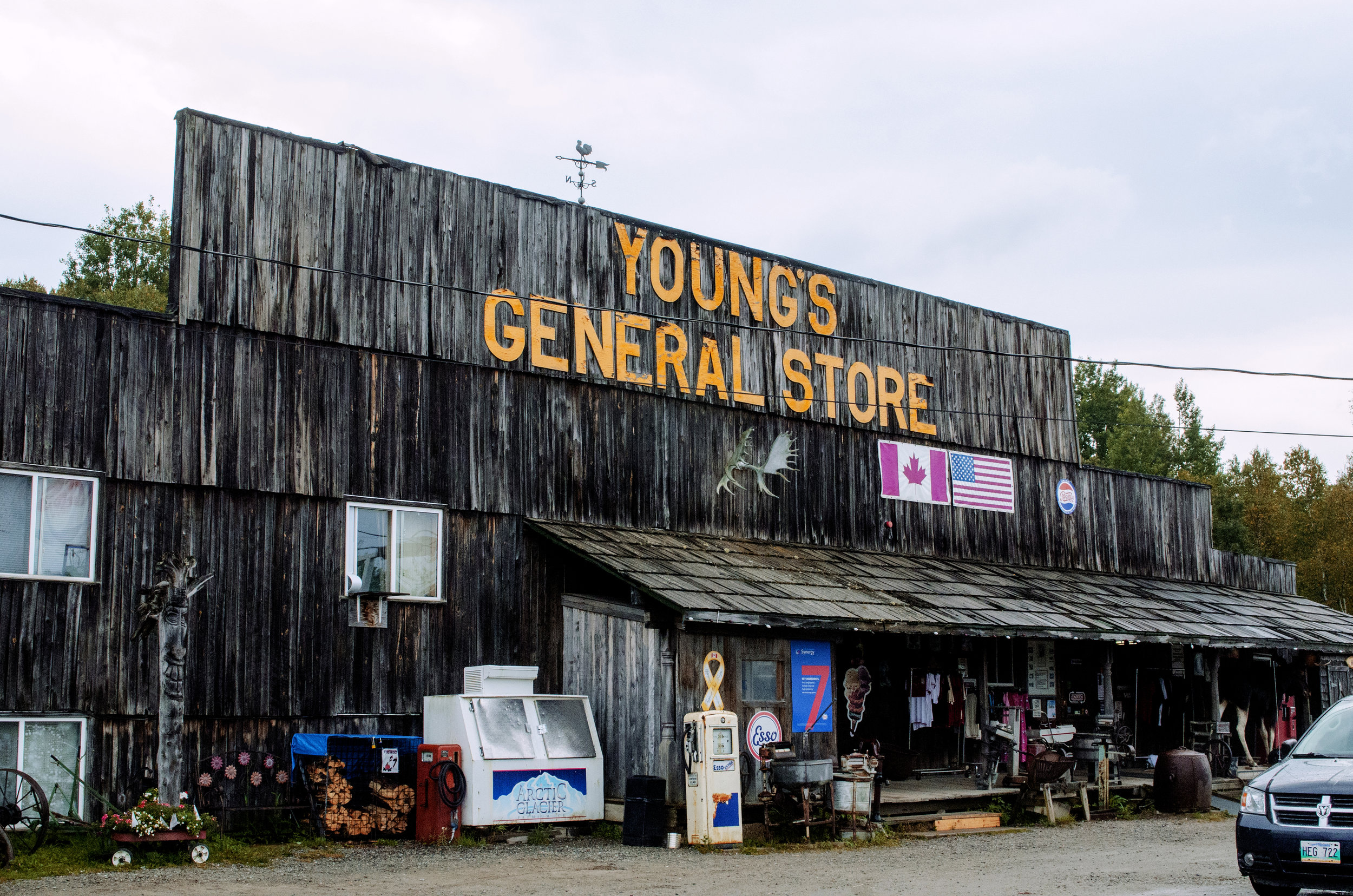 Jenkins, Cheyenne. General Store. 2017. Digital Photography. Wawa, Ontario