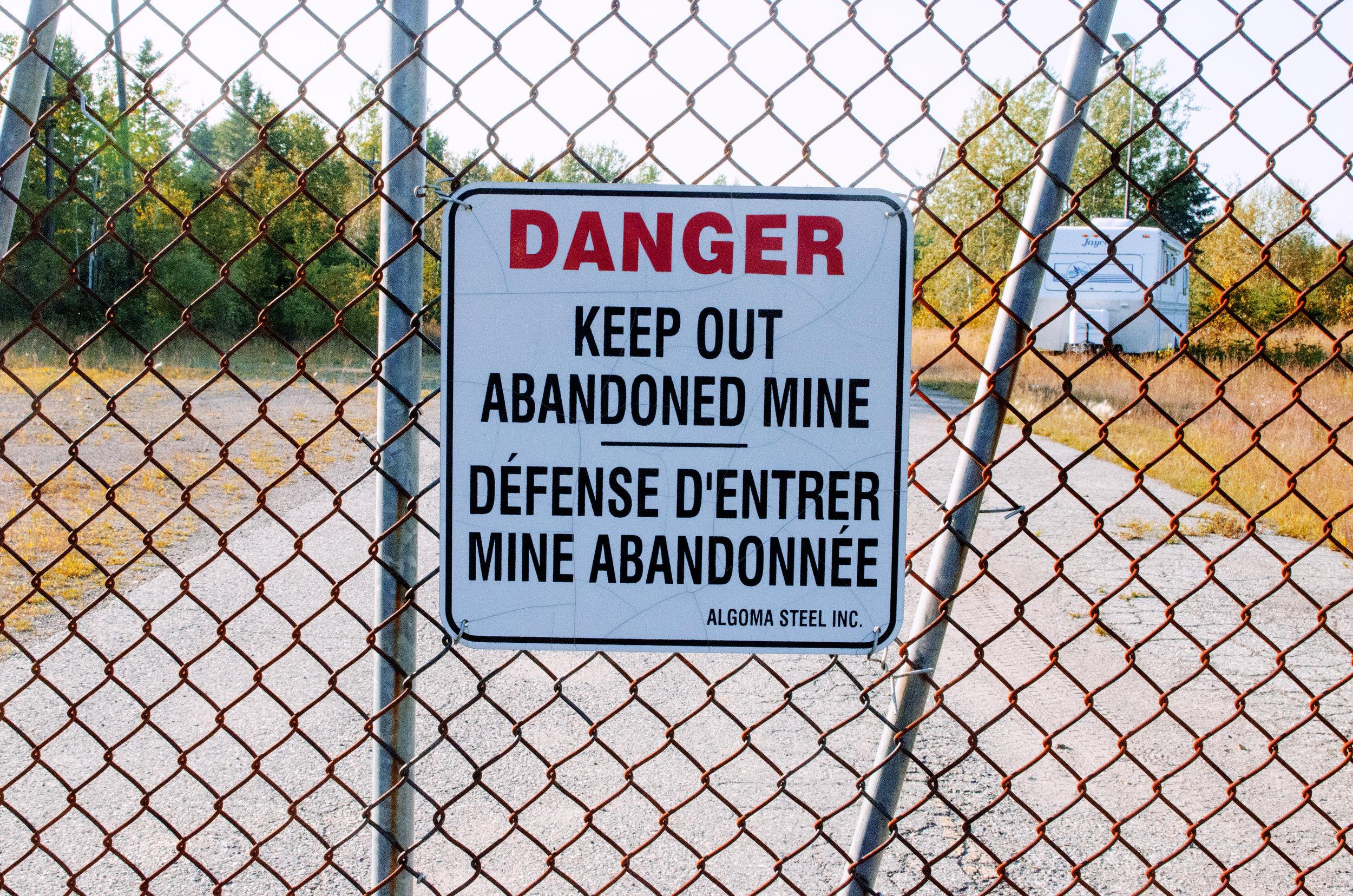 Jenkins, Cheyenne. Abandoned Mine. 2017. Digital Photography. Wawa, Ontario