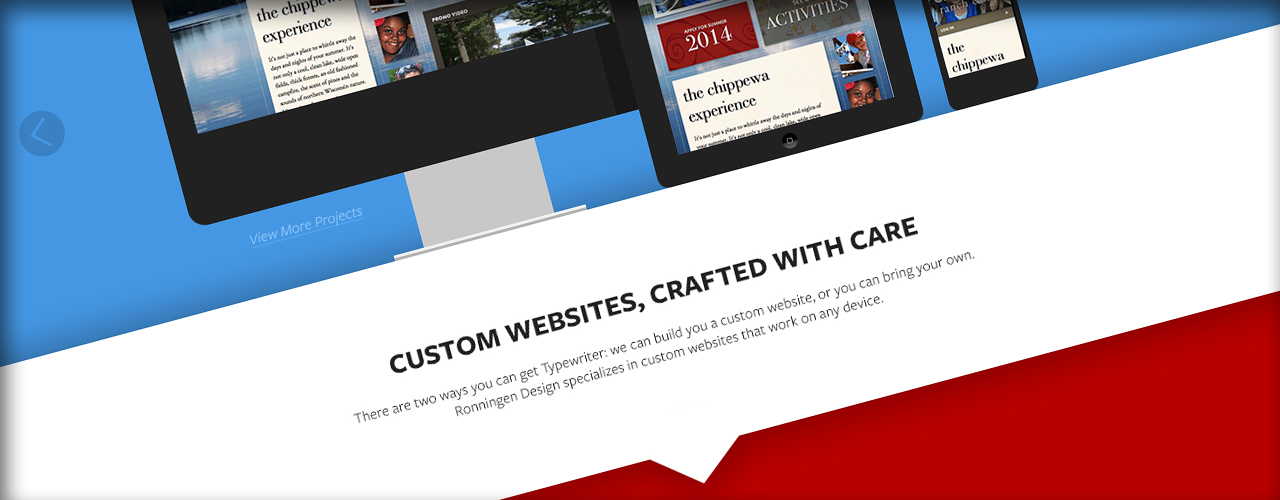 CLIENT    Ronningen Design   WEB DESIGN & EXPERIMENTAL DEVELOPMENT  Garison Plourde   PROJECT OVERSIGHT  Nicholai Ronningen