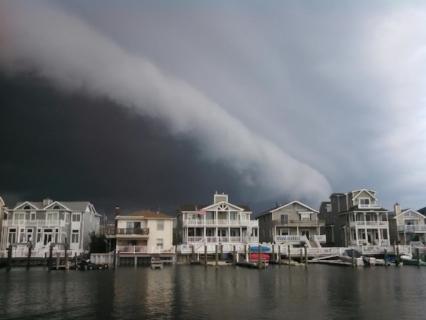 Approaching storm, June 2016, Ocean City, NJ.