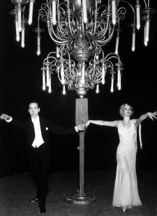 """Sonnie Hale and Jessie Matthews in """"Dancing On The Ceiling,""""  Ever Green  (1930)"""