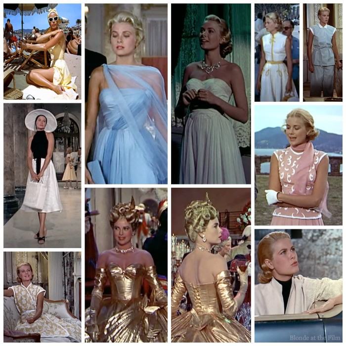 Edith Head's Costumes for Grace Kelly, To Catch A Thief