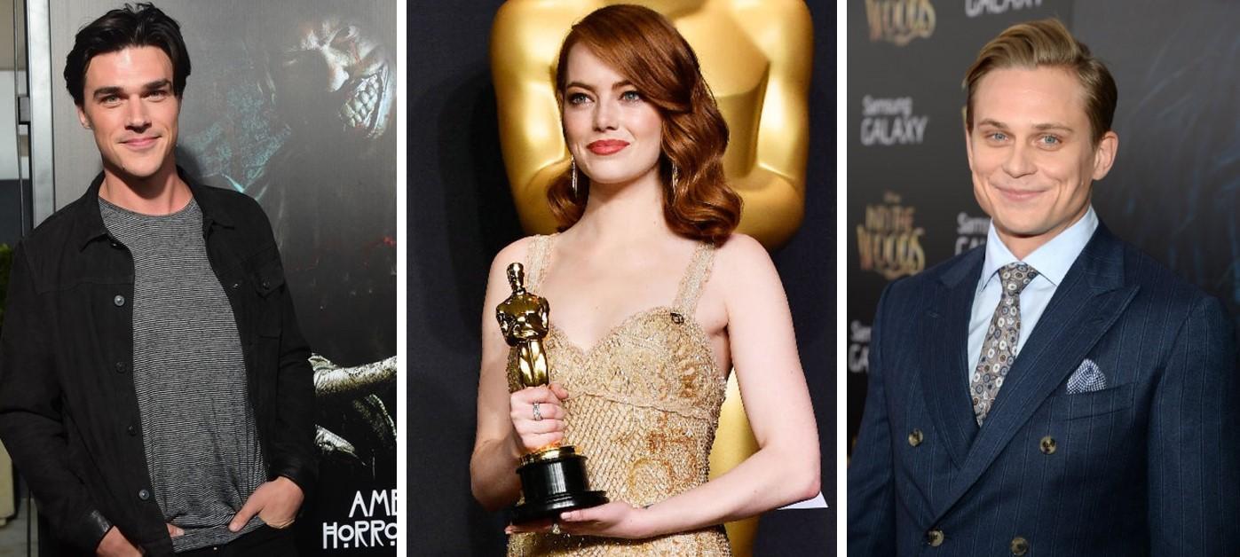 Dream-remake cast:   Finn Wittrock, Emma Stone, and   Billy Magnussen.
