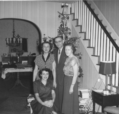 Christmas, 1949.