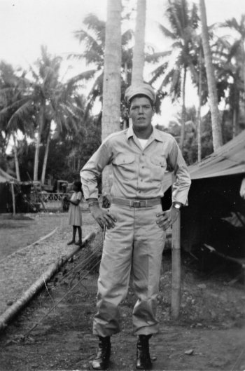 My Uncle Bill in the Philippines, September 1945.