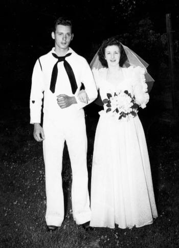 Albert & Alice Callen, May 20, 1942.
