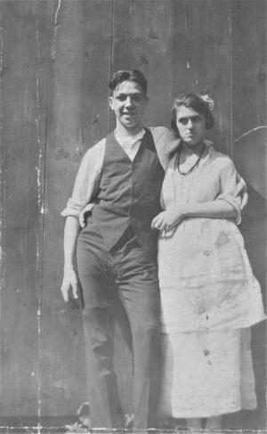 William & Anna Pawley, April 1922.