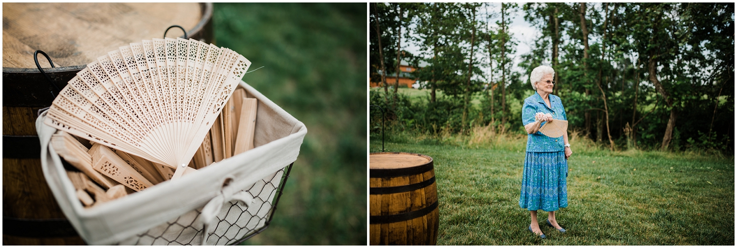 ceremony details at Rolling Meadows Ranch