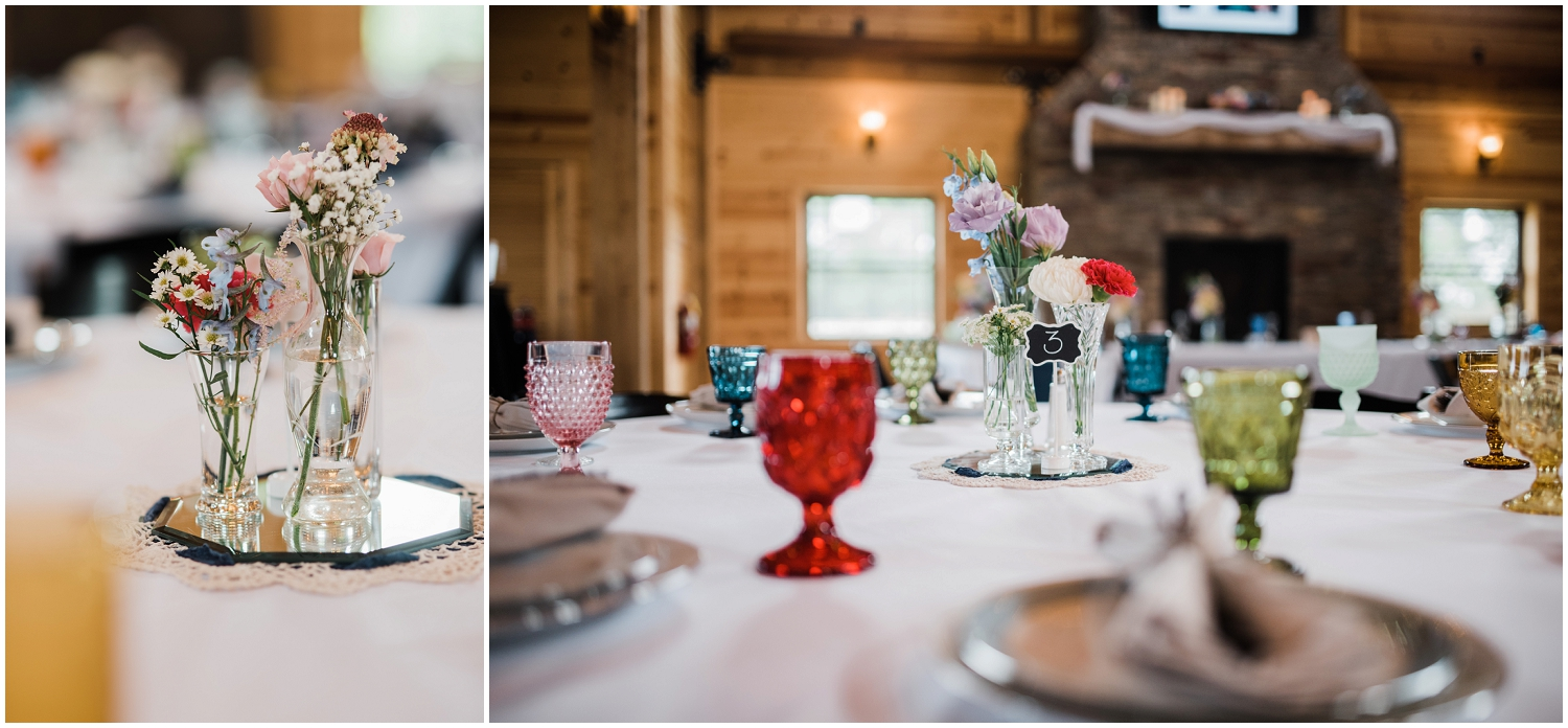 wedding details at Rolling Meadows Ranch