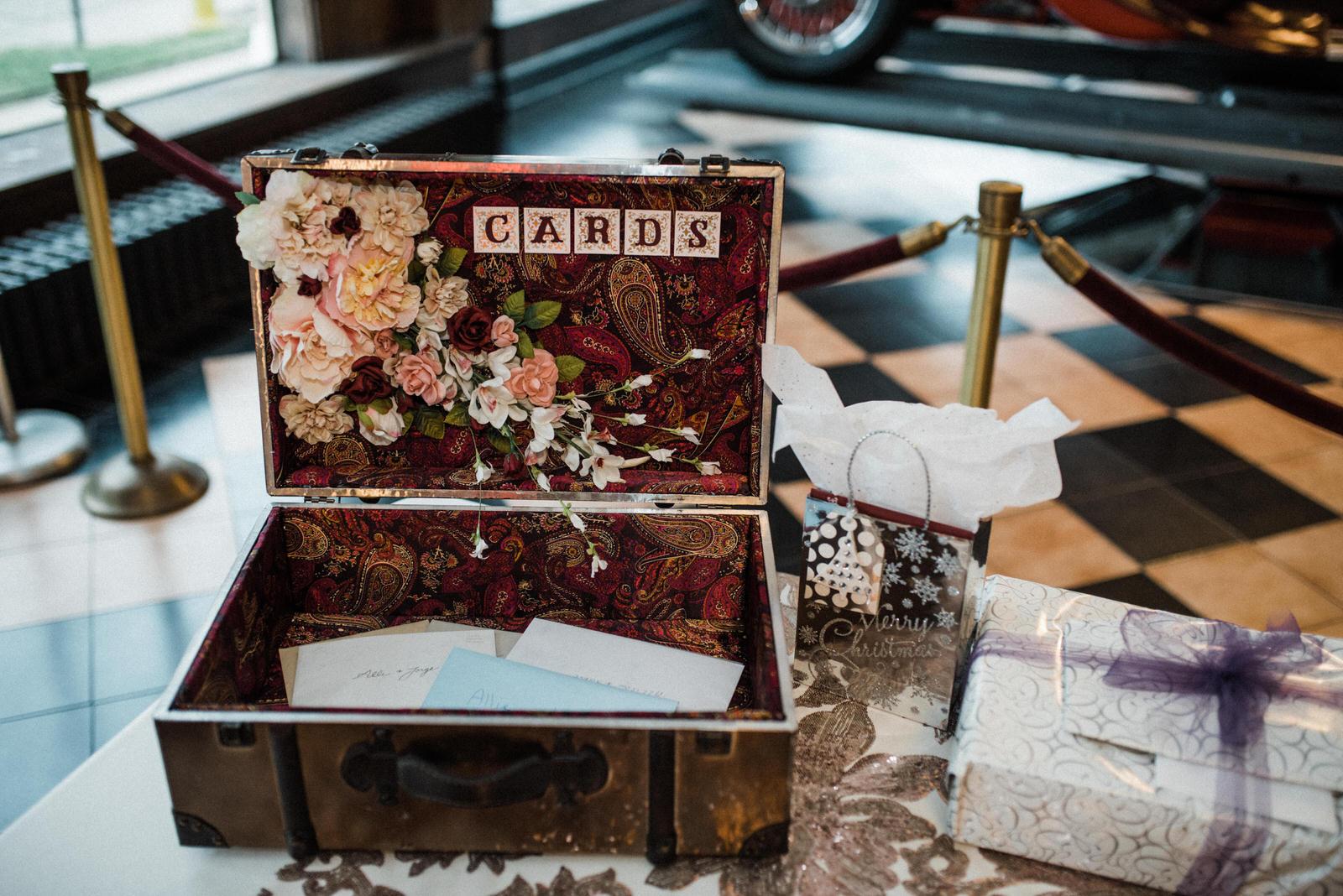 Americas Packard Museum wedding